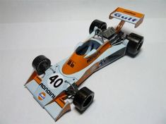 F1 Paper Model - 1976 GP Dutch Tyrrell 007 Paper Car Ver.2 Free Template…