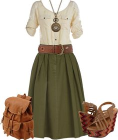 """Indiana Jones' Girlfriend ;)"" by lovee-hannah on Polyvore"