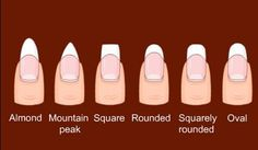 http://www.bettysbeautybombs.com/2015/02/17/how-to-file-and-shape-your-nails/ / Nail Shapes