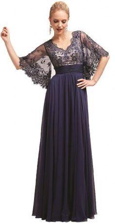 Meier Women's Sheer Sleeve Embrodiery Mother of Bride Evening Dress, http://www.amazon.com/dp/B00IQUL1HC/ref=cm_sw_r_pi_awdm_dXDhvb0C54365