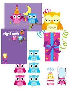 My Cotton Creations: Sleepover Party Printables!