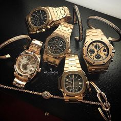 Audemars Piguet Royal Oak Collection, Patek Philippe Nautilus & Rolex…