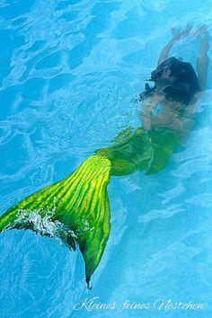 Green Tail Mermaid