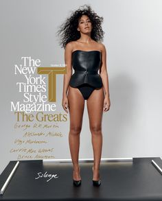 New and Next: Your Bimonthly Black Magazine Cover Roundup Is Here! Solange Knowles for T: The NYTimes Style Magazine, October 21 Black Magazine, Hair Magazine, Solange Knowles, Tapas, Silhouette, My Black Is Beautiful, Couture Week, Queen, Celebs