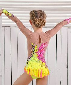 Leotard ice skating competition by artmaisternia – Dance Costumes Gymnastics Costumes, Gymnastics Poses, Gymnastics Competition, Gymnastics Outfits, Dance Costumes, Gym Leotards, Rhythmic Gymnastics Leotards, Leotard Fashion, Kids Fashion Photography