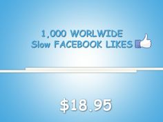 Smart facebook Likes Offering Complete solution of Facebook services.You will get quality facebbook services at most affordable prices with 100% money-back guarantee.