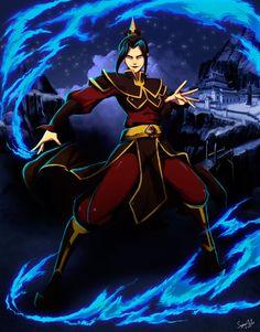 """Uno de mis personajes favorito de """"Avatar: La leyenda de Aang"""", el sketch fue hecho por , esta villana es de temer y aunque esta algo chiflada tiene sus momentos XD Genzoman Sketch"""