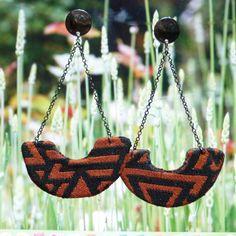 @afrotik brincos afro feitos com tecidos africano