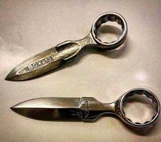 Post with 9863 votes and 246141 views. Shared by DrunkAzSkunk. Knife's made out of tools and other miscellaneous items