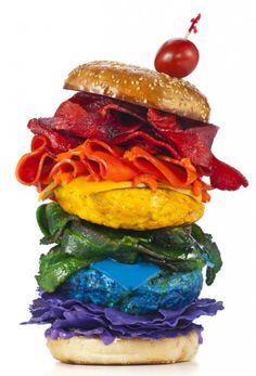 Comida de Arcoiris | Rainbow Food