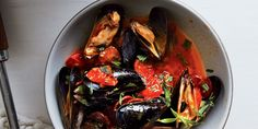 Don't Move a Mussel—Seriously—this one-pot dinner is that easy. Sweet cherry tomatoes, earthy chorizo, and a splash of wine do the heavy lifting.