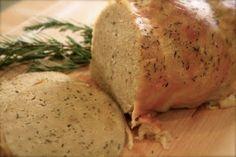 Courtney's Pantry: Vegan Turkey Roast & Sage Gravy