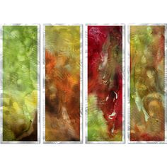 @Overstock - Artist: Megan Duncanson  Title: Through Rose Colored Glass Metal Wall Sculpture   Product type: Metal arthttp://www.overstock.com/Home-Garden/Megan-Duncanson-Through-Rose-Colored-Glass-Metal-Wall-Sculpture/7588671/product.html?CID=214117 $199.99