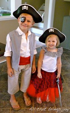 All That Brings Joy: Pirate Costumes Pirate, Costumes, Pirate costume diy boy, Joy, Brings
