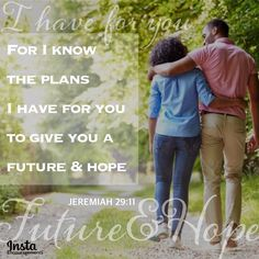 """From '30 Days of Marriage Prayers' by @DrTonyEvans  Pray that you will keep your eyes on Him as you JOURNEY together in your marriage.  '...Help us to keep our eyes and minds on You, knowing that our hope doesn't come from our circumstances, but in the promises You have made....'  JEREMIAH 29:11  """"For I know the plans I have for you, declares the LORD, plans for welfare and not for evil, to give you a future and a hope."""" #InstaEncouragements #marriage #prayer #wedding Marriage Prayer, Happy Marriage, Marriage Help, Tony Evans, Jeremiah 29 11, I Know The Plans, Dreaming Of You, Prayers, Encouragement"""