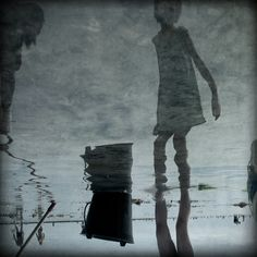Fabienne Rivory - Photography & Painting - Petite - (2009)