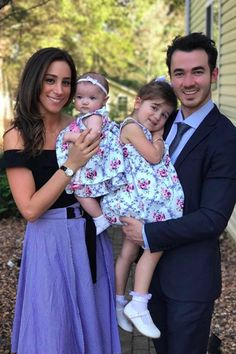 See What Kevin Was Up to During the Jonas Brothers' Hiatus (Spoiler: He Has 2 Daughters! Celebrity Babies, Celebrity Couples, Celebrity Weddings, Celebrity Photos, Camp Rock, Jonas Brothers, Danielle Jonas, People Fall In Love, Pretty People