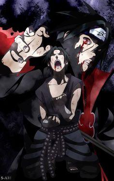 Sasuke Uchiha (うちはサスケ) & Itachi Uchiha (うちはイタチ) | NARUTO (ナルト)