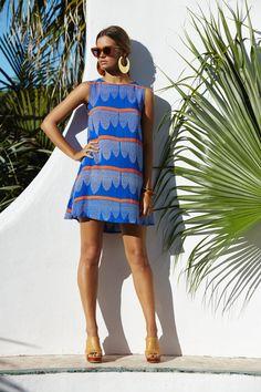 Mister Zimi | Bahamas Blue Sleeveless Tina Dress