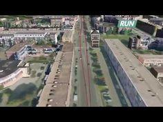 3D Animatie Parcours Marathon Rotterdam 2015