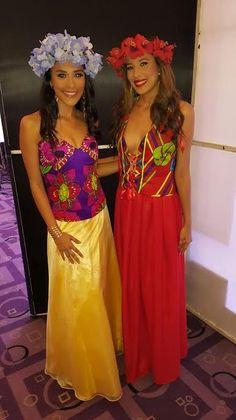 vestidos de fiesta con tonos polycromia - Buscar con Google