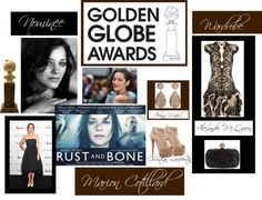 """Marion Cotillard Most Fashionable Golden Globe Nominee"" by lala530 ❤ liked on Polyvore"