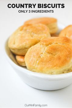These country-homestyle biscuits are a heavenly mix of soft, hard, salty, sweet, and buttery.