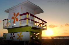 South Beach Sunrise  Photo by: Jonathan Kohlwey Photography