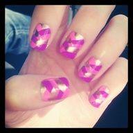 Fish tail braid nail polish design :) @MissJenFABULOUS   Webstagram