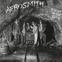 Aerosmith - Night In The Ruts on Numbered 180g LP