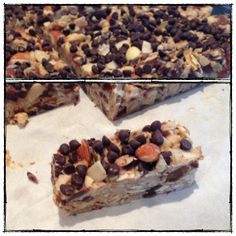 granola bars (grain, gluten, dairy free, paleo)