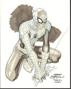 kandidkandor:  Spider-man   Terry Dodson
