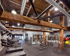 New fitness gym interior dreams 56 Ideas Basement Gym, Garage Gym, Gym Design, Fitness Design, Gym Interior, Interior Design, Warehouse Gym, Dream Gym, Gym Decor