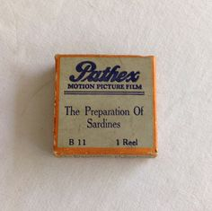 Pathex Films B-11 The Preparation of by CoolOldStuffIFound on Etsy