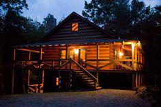 2 bedroom 2 bath in wooded setting, tasteful decor, rustic modern, wi fi, pool table, trails to walk on property, near Toccoa River, located in Blue Ridge GA @ www.mtngetawaycabins.com