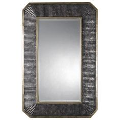 Mirrors - Linear Edge Mirror – Bronze