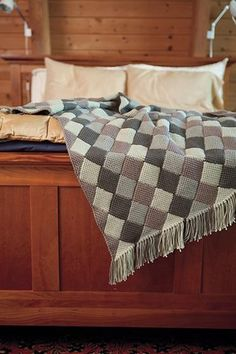 Squared Away Crochet Throw  - Knitting Patterns and Crochet Patterns from KnitPicks.com