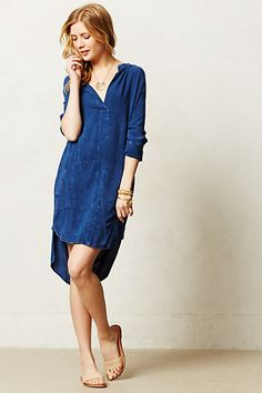 Aure Shirtdress - anthropologie.com