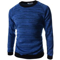 TheLees Men's Round Neck Long Sleeve Slim Fit Knit T-Shirt ($20) ❤ liked on Polyvore featuring men's fashion, men's clothing, men's shirts, men's t-shirts, his stuff, shirts, mens longsleeve shirts, mens long sleeve knit shirts, mens slim fit long sleeve t shirts and mens slim t shirts