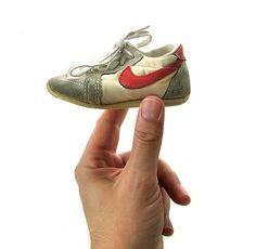 Vintage Tiny Sneakers / Nike