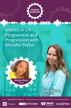 Altovise Pelzer and Kim Sutton discuss forgiveness, how opening up about her own molestation sowed the seeds of Altovise's career, and how proceeding despite life's struggles presented signs that she was on the right track. Core Beliefs, Positive Psychology, Best Self, Forgiveness, Productivity, Authenticity, Positivity, Mindset, Entrepreneur