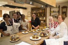 Corporate class with their lovely profiteroles