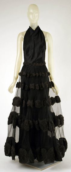'Carnival Dress' - 1938 - by Madeleine Vionnet (French, 1876-1975) - Silk