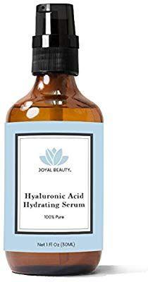 dffdcf2c047 Amazon.com: Hyaluronic Acid Serum for Face Skin Eyes Lips by Joyal Beauty.