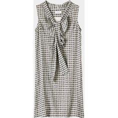 Toast Toast Neta Tie Front Dress ($61) ❤ liked on Polyvore
