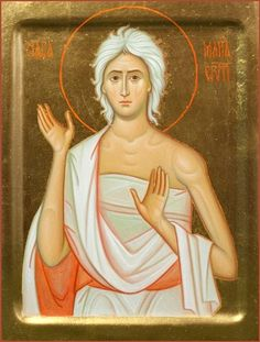 St Mary of Egypt 19×25 cm, to order. Catalog of St Elisabeth Convent…