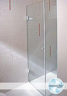 Box para  Banheiro / Box de Vidro / Box de Abrir / http://www.atlanticbox.com.br/site/box-de-abrir/