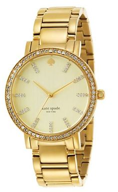 Kate Spade gold watch because sometimes I'm not in a silver-y mood, ya feel?