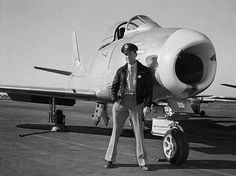 Chuck Yeager and his F-86 Sabre