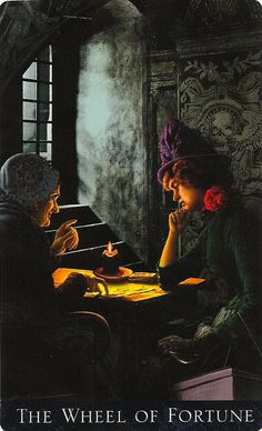 Bohemian Gothic Tarot --  If you love Tarot, visit me at www.WhiteRabbitTarot.com